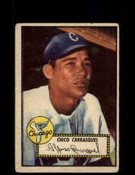 1952 CHICO CARRASQUEL TOPPS #251 WHITE SOX POOR *9445