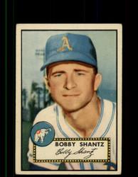 1952 BOBBY SHANTZ TOPPS #219 ATHLETICS POOR *9453