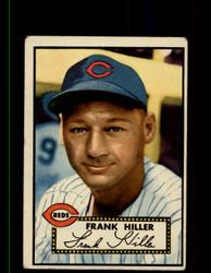 1952 FRANK HILLER TOPPS #156 REDS POOR *9459