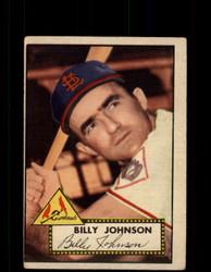 1952 BILLY JOHNSON TOPPS #83 CARDINALS POOR *9469
