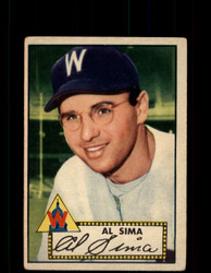 1952 AL SIMA TOPPS #93 SENATORS POOR *9470
