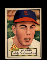 1952 CLIFF CHAMBERS TOPPS #68 CARDINALS POOR *9475