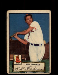 1952 BILLY GOODMAN TOPPS #23 RED SOX POOR *9486