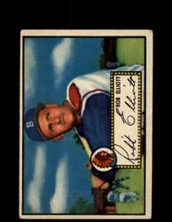1952 BOB ELLIOT TOPPS #14 BRAVES POOR *9494