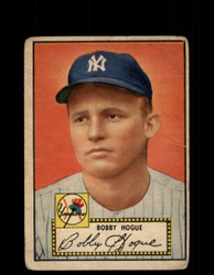 1952 BOBBY HOGUE TOPPS #9 YANKEES POOR *9500