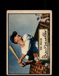 1952 DON MUELLER TOPPS #52 GIANTS POOR *9517