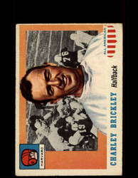 1955 CHARLEY BRICKLEY TOPPS #61 ALL AMERICAN HARVARD VG *9524