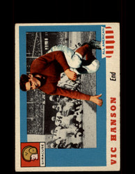 1955 VIC HANSON TOPPS #57 ALL AMERICAN SYRACUSE VG/EX *9527