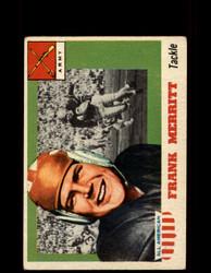 1955 FRANK MERRITT TOPPS #55 ALL AMERICAN ARMY VG*9528