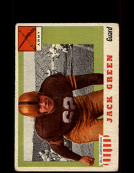 1955 JACK GREEN TOPPS #53 ALL AMERICAN ARMY VG *9529