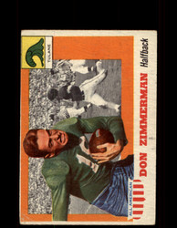 1955 DON ZIMMERMAN TOPPS #49 ALL AMERICAN TULANE GD *9531