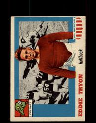 1955 EDDIE TRYON TOPPS #42 ALL AMERICAN COLGATE EX *9532