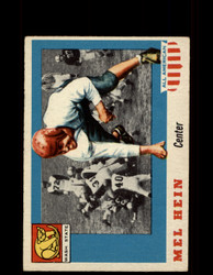 1955 MEL HEIN TOPPS #28 ALL AMERICAN WASHINGTON STATE VG/EX *9537