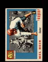 1955 MEL HEIN TOPPS #28 ALL AMERICAN WASHINGTON STATE VG/EX*9538