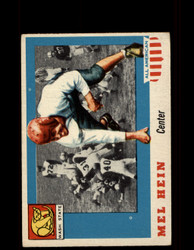 1955 MEL HEIN TOPPS #28 ALL AMERICAN WASHINGTON STATE VG *9540