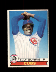 1979 RAY BURRIS OPC #43 O-PEE-CHEE CUBS *R1951