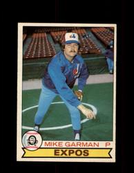 1979 MIKE GARMAN OPC #88 O-PEE-CHEE EXPOS *R2239