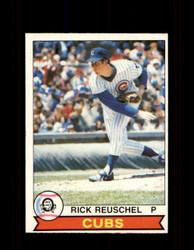 1979 RICK REUSCHEL OPC #123 O-PEE-CHEE CUBS *7581
