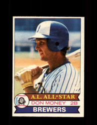 1979 DON MONEY OPC #133 O-PEE-CHEE BREWERS *R1394