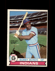 1979 BOBBY BONDS OPC #142 O-PEE-CHEE INDIANS *R5398