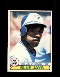1979 WILLIE UPSHAW OPC #175 O-PEE-CHEE BLUE JAYS *R4443