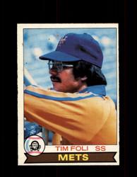 1979 TIM FOLI OPC #213 O-PEE-CHEE METS *R4938