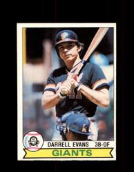 1979 DARRELL EVANS OPC #215 O-PEE-CHEE GIANTS *2600