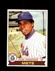 1979 STEVE HENDERSON OPC #232 O-PEE-CHEE METS *8033