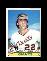 1979 JACK CLARK OPC #268 O-PEE-CHEE GIANTS *G5915