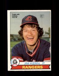 1979 JIM KERN OPC #297 O-PEE-CHEE RANGERS *9569