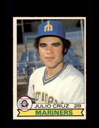 1979 JULIO CRUZ OPC #305 O-PEE-CHEE MARINERS *9578