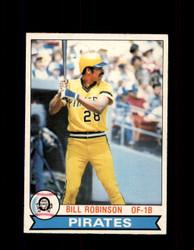 1979 BILL ROBINSON OPC #336 O-PEE-CHEE PIRATES *9597