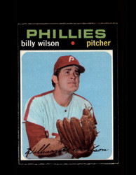 1971 BILLY WILSON OPC #192  O-PEE-CHEE PHILLIES *R4776