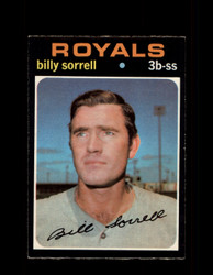 1971 BILLY SORRELL OPC #17 O-PEE-CHEE ROYALS *R4616