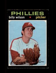 1971 BILLY WILSON OPC #192 O-PEE-CHEE PHILLIES *R5054