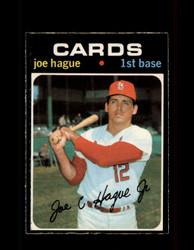 1971 JOE HAGUE OPC #96 O-PEE-CHEE CARDINALS *5895