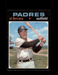 1971 AL FERRARA OPC #214 O-PEE-CHEE PADRES *4226
