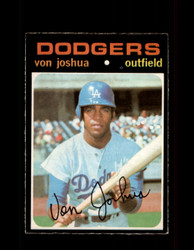 1971 VON JOSHUA OPC #57 O-PEE-CHEE DODGERS *5556