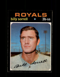 1971 BILLY SORRELL OPC #17 O-PEE-CHEE ROYALS *7550