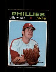 1971 BILLY WILSON OPC #192 O-PEE-CHEE PHILLIES *9703