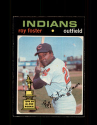 1971 ROY FOSTER OPC #107 O-PEE-CHEE INDIANS *R2485