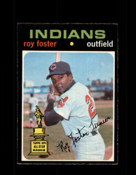1971 ROY FOSTER OPC #107 O-PEE-CHEE INDIANS *9798