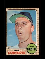 1968 DAN SCHNEIDER OPC #57 O-PEE-CHEE HOUSTON *9888