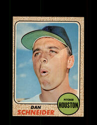 1968 DAN SCHNEIDER OPC #57 O-PEE-CHEE HOUSTON *9893
