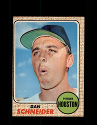 1968 DAN SCHNEIDER OPC #57 O-PEE-CHEE HOUSTON *9895
