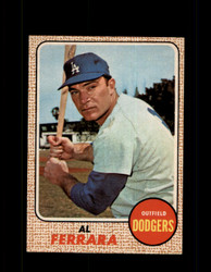 1968 AL FERRARA OPC #34 O-PEE-CHEE DODGERS *9976