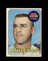1969 DANNY CATER OPC #44 O-PEE-CHEE ATHLETICS *G6208