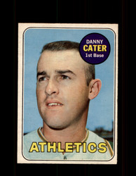 1969 DANNY CATER OPC #44 O-PEE-CHEE ATHLETICS *G6209