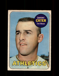 1969 DANNY CATER OPC #44 O-PEE-CHEE ATHLETICS *G6210