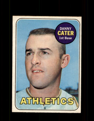 1969 DANNY CATER OPC #44 O-PEE-CHEE ATHLETICS *1926